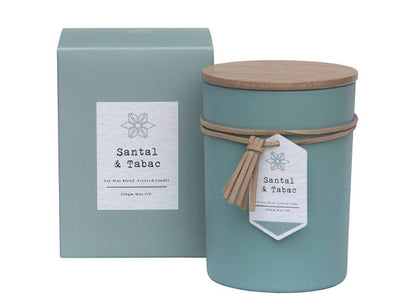 Amalfi: Scantal Scented Candle Jar - Santal & Tabac