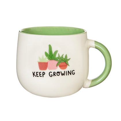 Sass & Belle: 'Keep Growing' Mug