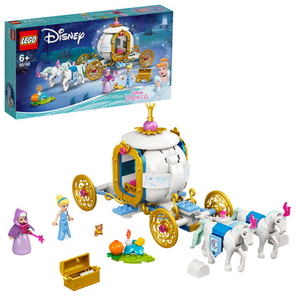 LEGO Disney: Cinderella's Royal Carriage - (43192)