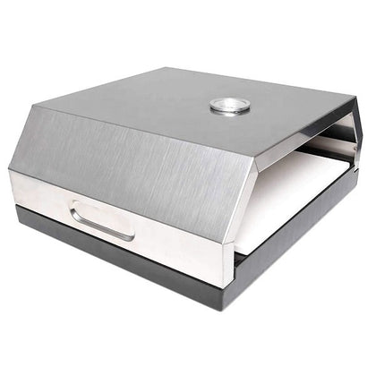 Stainless Steel BBQ Pizza Oven with Pizza Stone