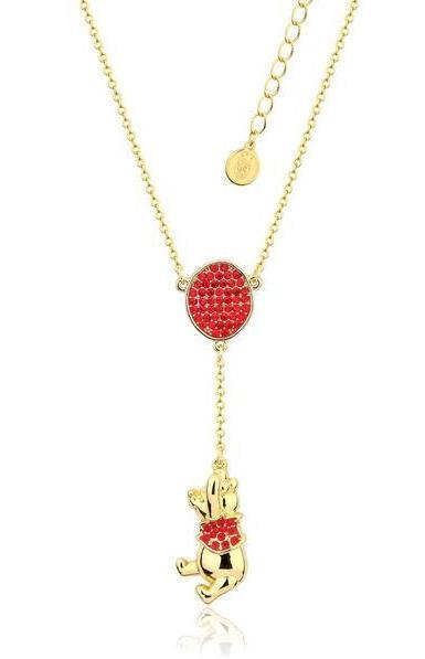 Couture Kingdom: Disney Winnie the Pooh Balloon Necklace - Gold