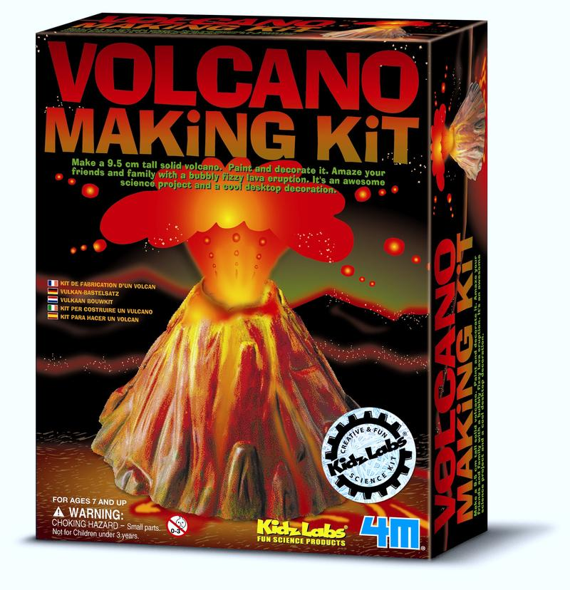 4M: Kidz Labs Volcano Making Kit
