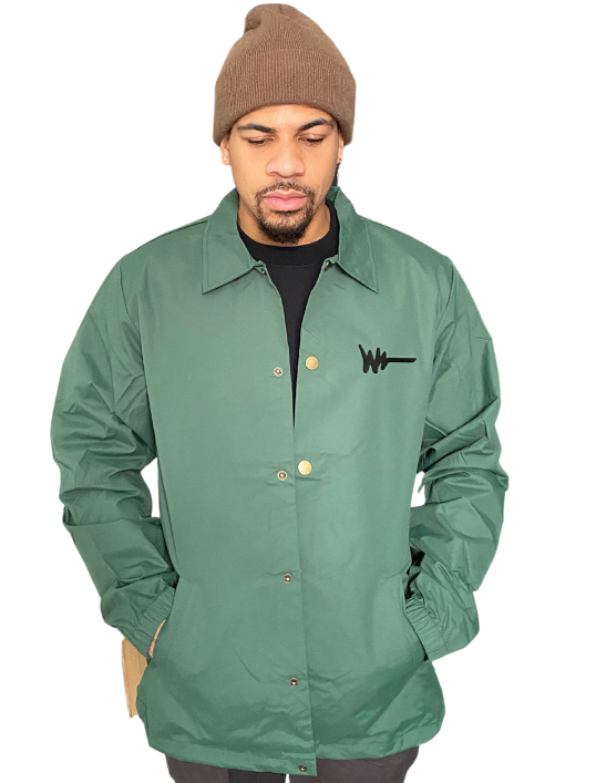 Forest Green Around The Way Jacket
