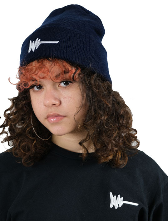 Navy Logo Skully