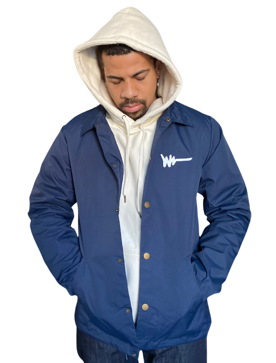 Navy Around The Way Jacket