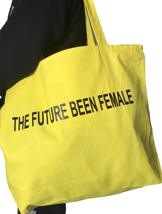 Yellow Future Been Female Tote