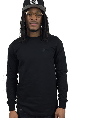 Tonal Long Sleeve (Black)