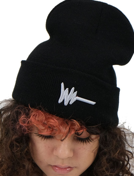 Black Logo Skully