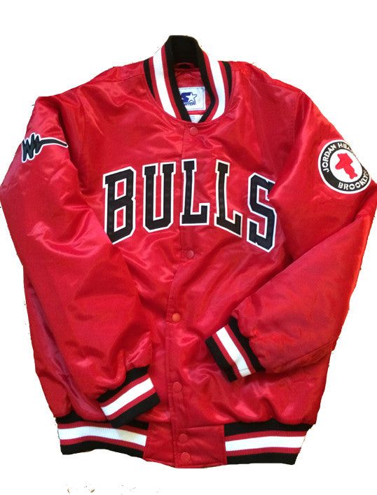 Red Chicago Bulls Jacket