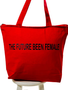 Red Future Been Female Tote