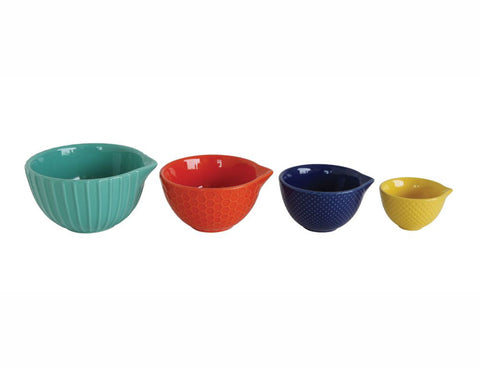 Stoneware Measuring Cup Set