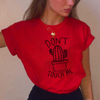 "Cactus Tee ""DON'T TOUCH ME"""
