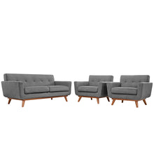 Load image into Gallery viewer, Engage Armchairs and Loveseat Set of 3