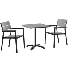 Load image into Gallery viewer, Maine 3 Piece Outdoor Patio Dining Set