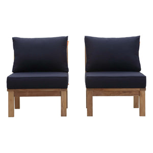 Marina 2 Piece Outdoor Patio Teak Set