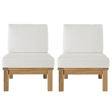 Load image into Gallery viewer, Marina 2 Piece Outdoor Patio Teak Set