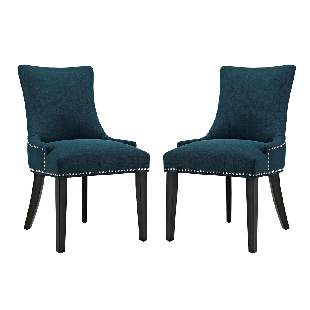 mar Dining Side Chair Fabric Set of 2