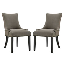 Load image into Gallery viewer, mar Dining Side Chair Fabric Set of 2