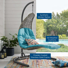 Load image into Gallery viewer, LANDSCAPE Hanging Chaise Lounge Outdoor Swing Chair