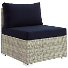Load image into Gallery viewer, Repose Sunbrella® Fabric Outdoor Patio Armless Chair