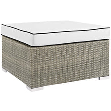 Load image into Gallery viewer, Repose Outdoor Patio Upholstered Fabric Ottoman