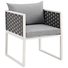 Load image into Gallery viewer, Stance Outdoor Patio Aluminum Dining Armchair