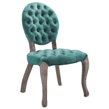 Load image into Gallery viewer, Exhibit French Vintage Dining Performance Velvet Side Chair