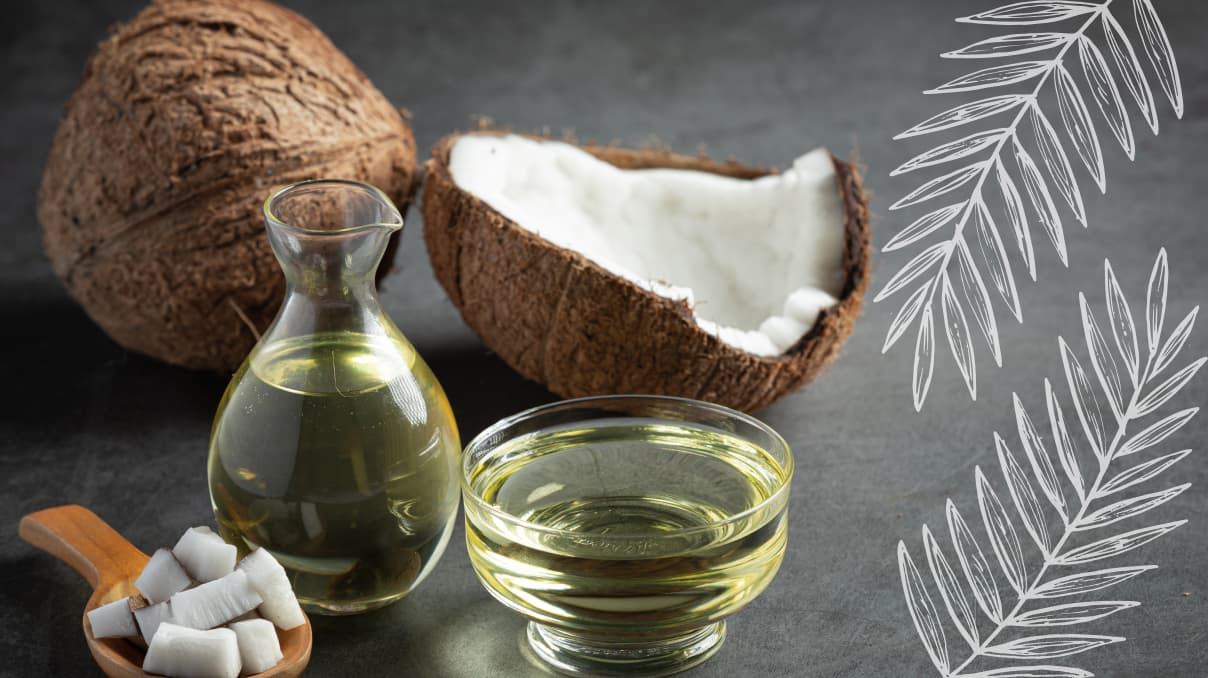 applications for coconut oil