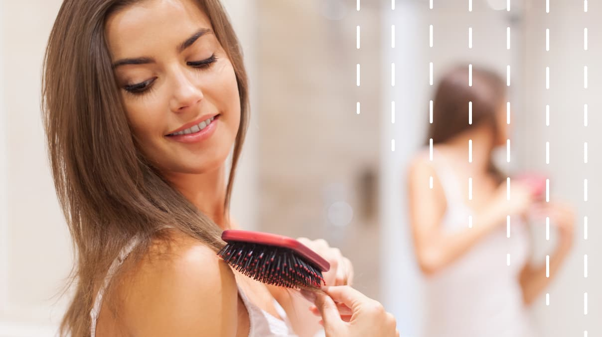 how to comb your hair