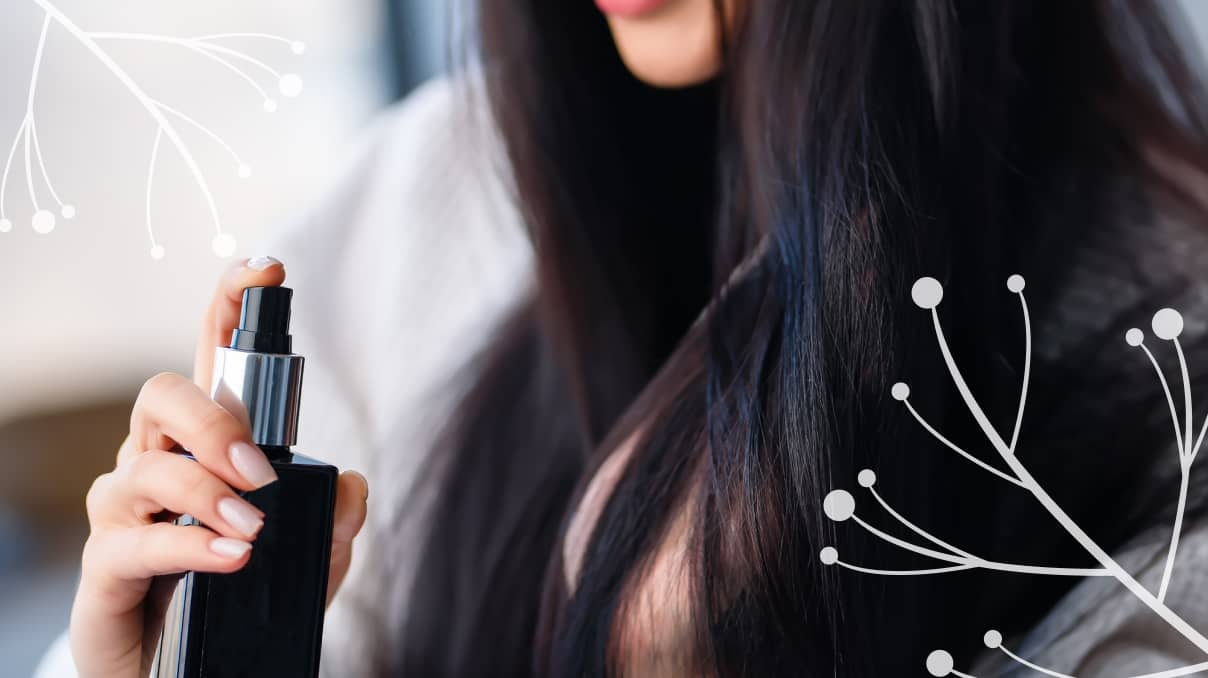 Protect dyed hair before styling
