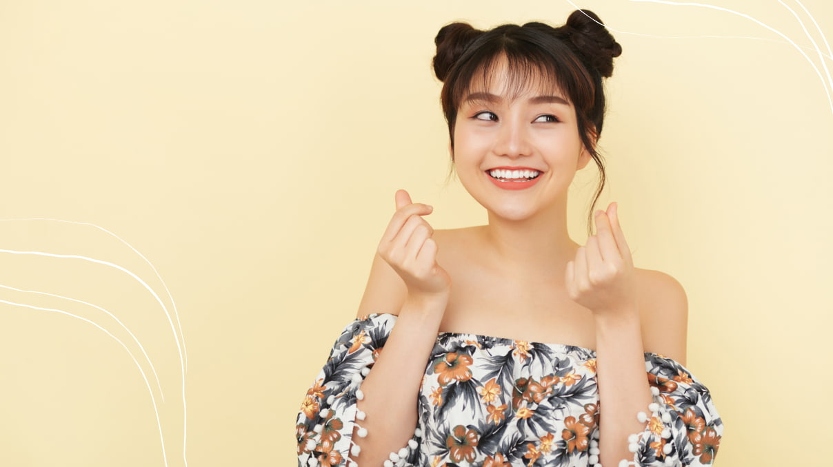 TOP-10 Fancy and Easy Asian Hairstyles