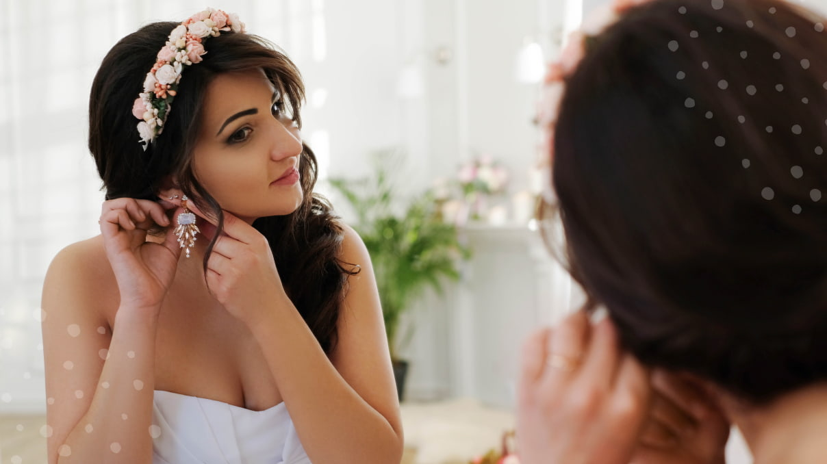 Tips for bridal hair with flowers