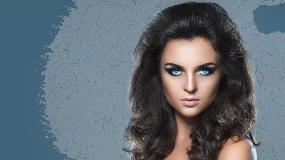 Bouffant using halo extensions