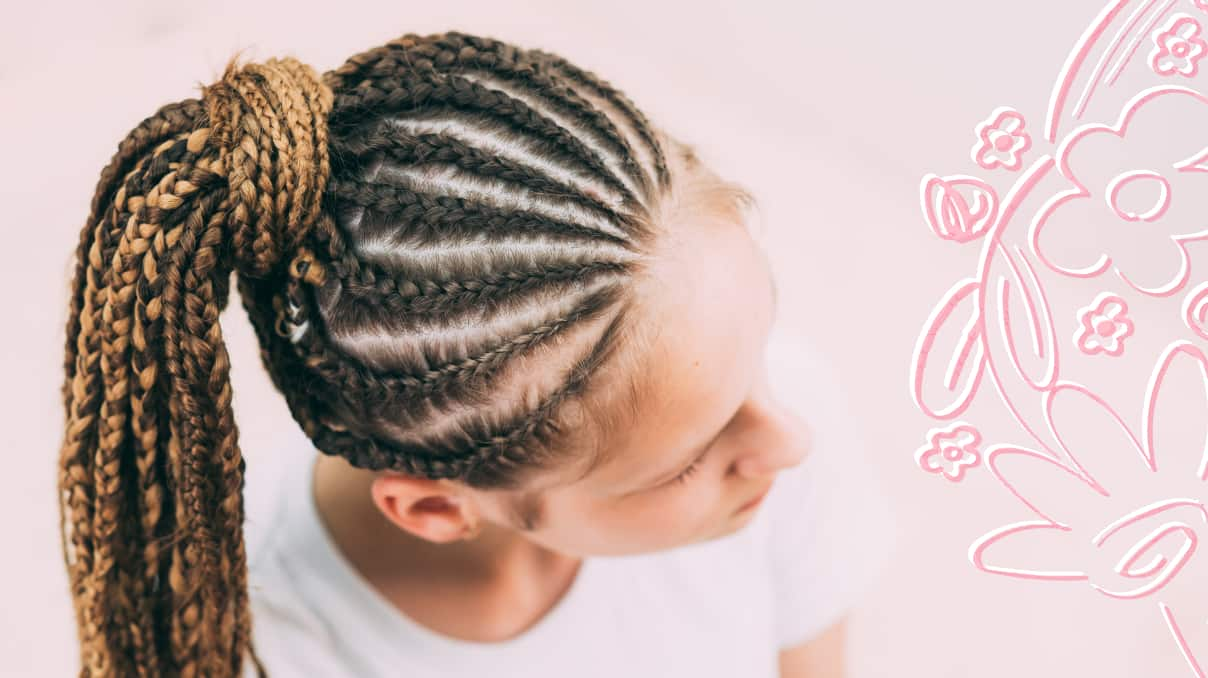 hairstyles for braid with extensions at home