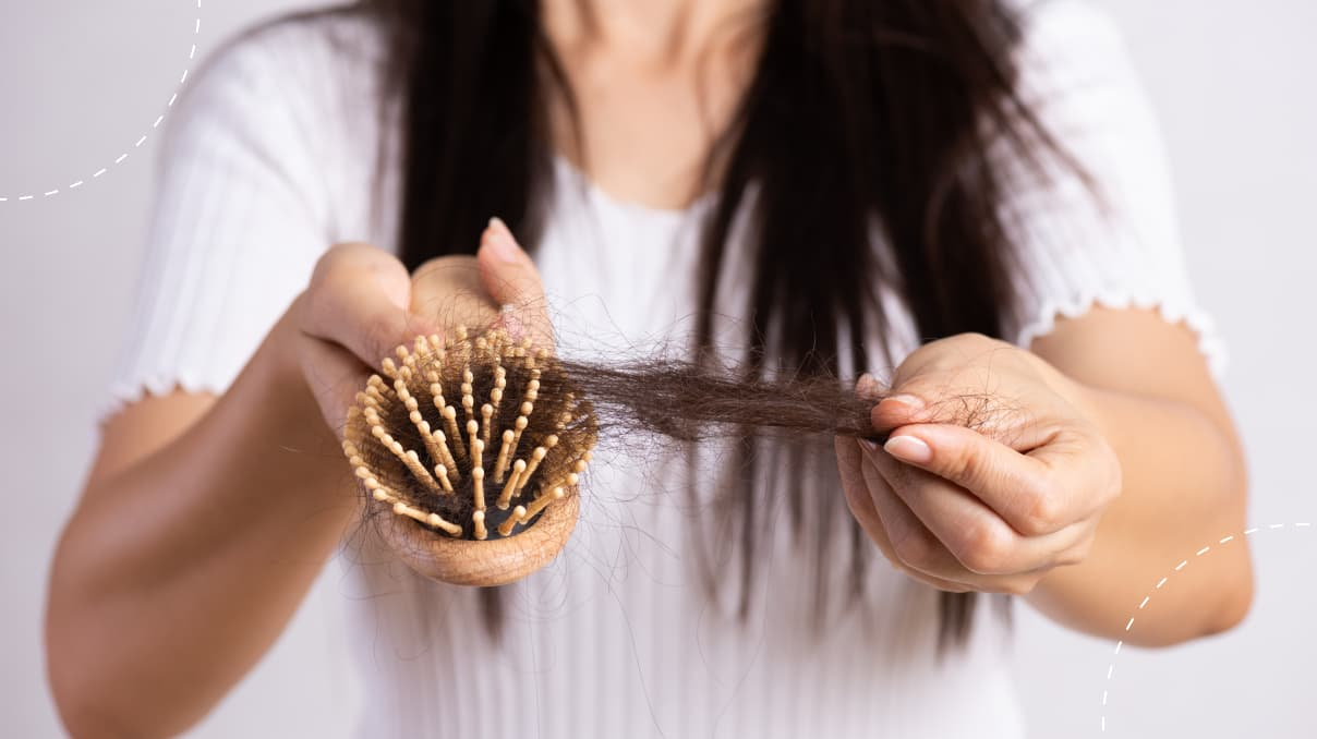 how to slow down hair shedding
