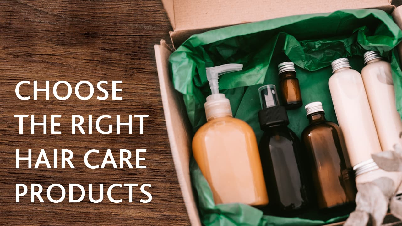 right products for splitting hair