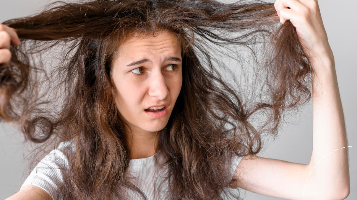 how to prevent hair tangle