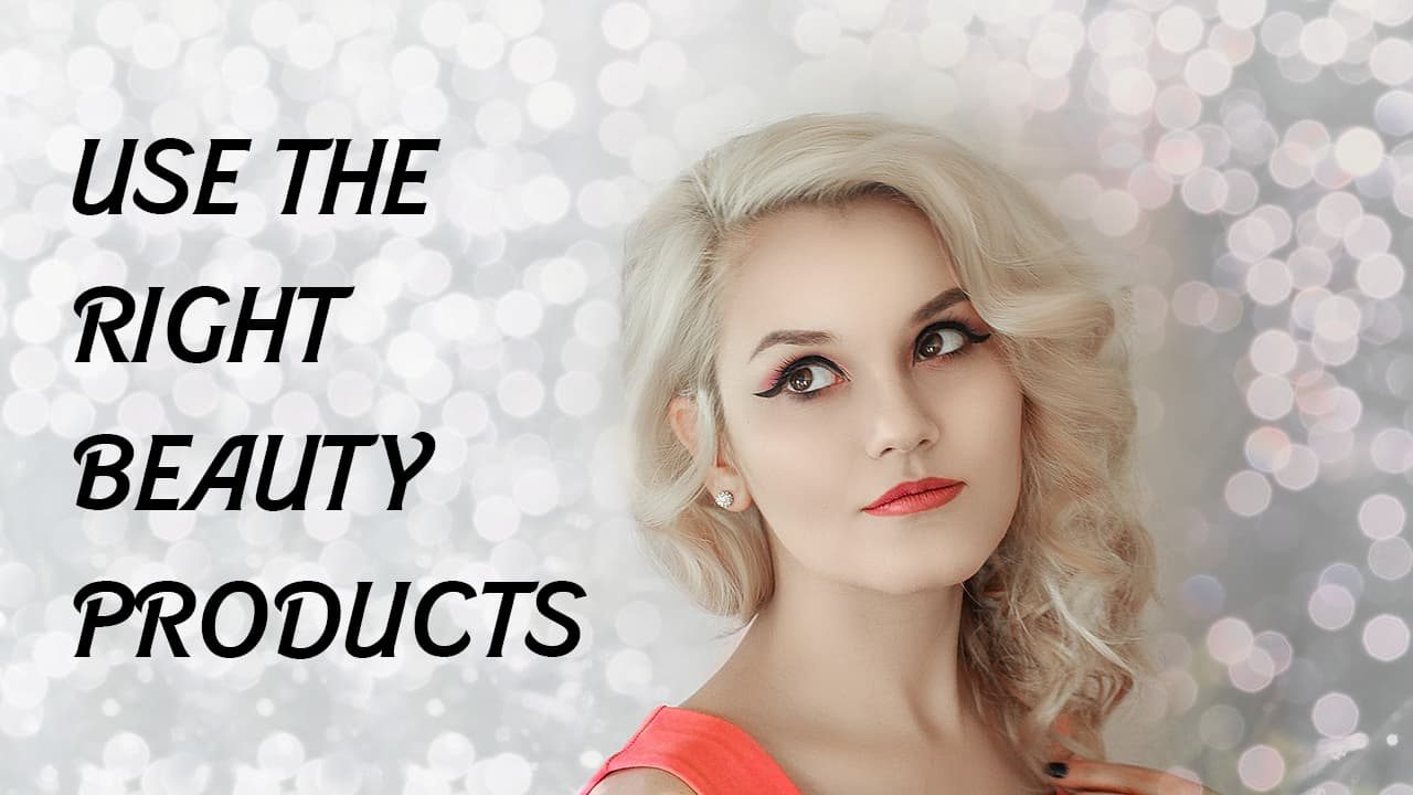 right beauty products for hair