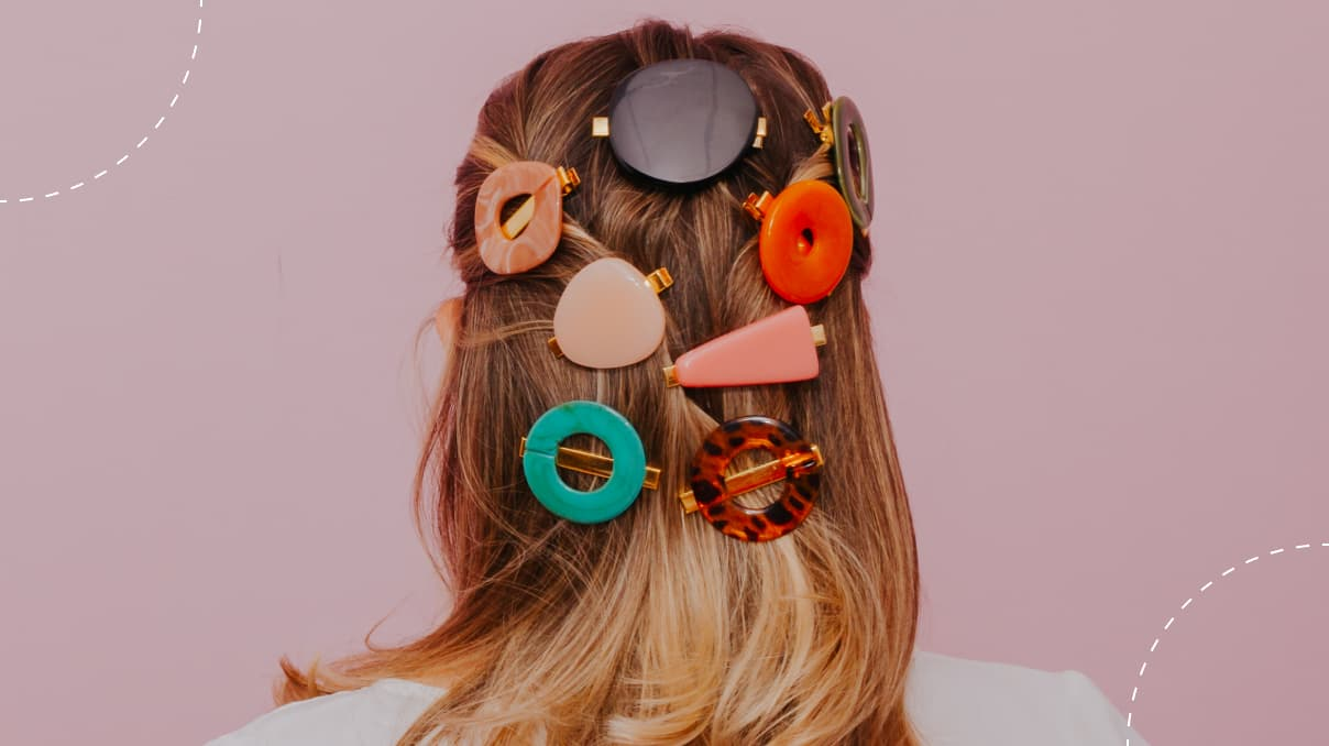 hairstyles with pearl clips