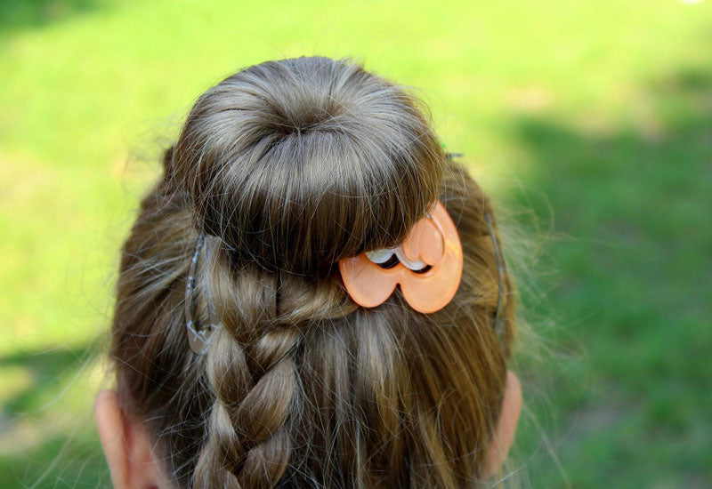 a simple bun hairstyle for formal events