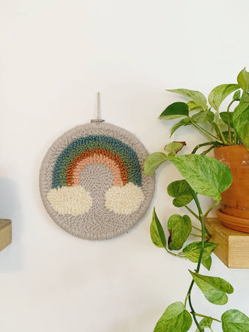 Muted Rainbow Wall Hanging