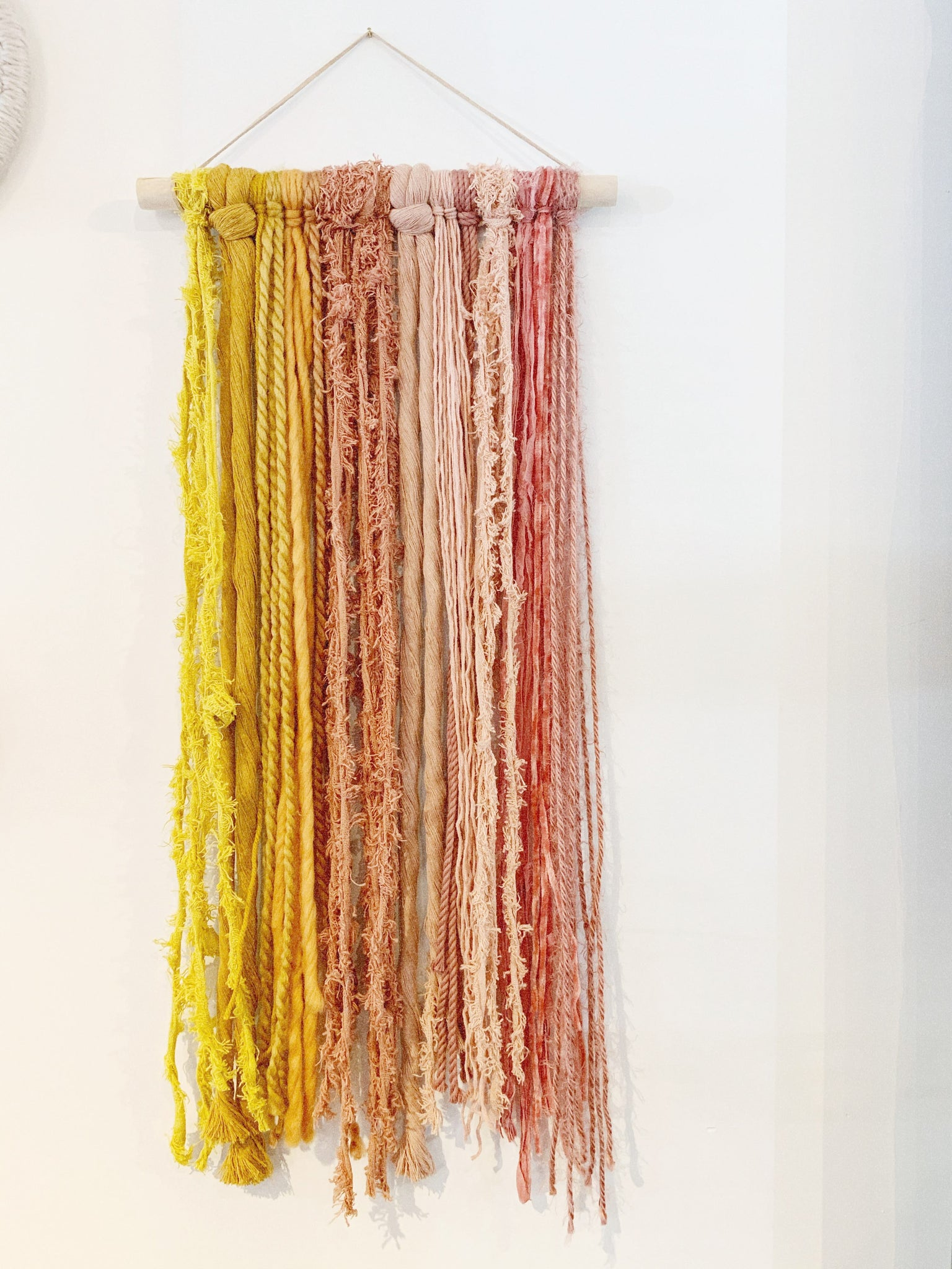 Spicy Pink Lemonade Small FIber Hanging