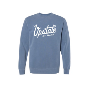 Compas Life- Upstate Crewneck in Navy Wash