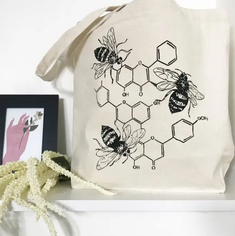 The Coin Laundry- Honey Chemistry Tote