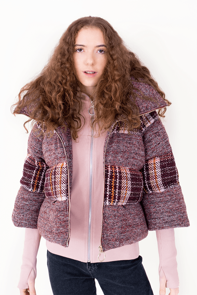 AW Puffer Winter Coat - Red Checked_04