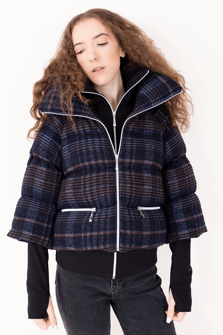 AW Puffer Winter Coat - Sparkly Blue_01