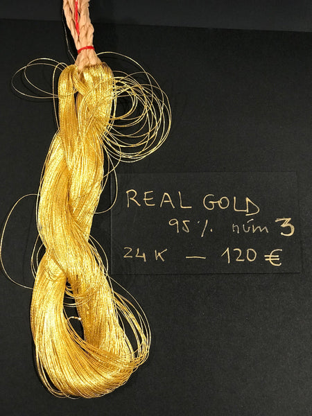 "Hilo oro ""real gold"" 95 K nº 3"
