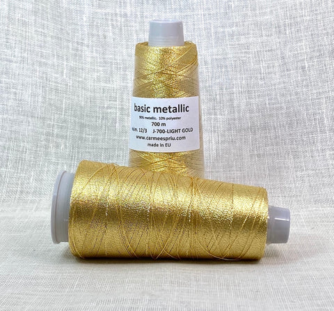Basic Metal·lic Light Gold 15/3 700