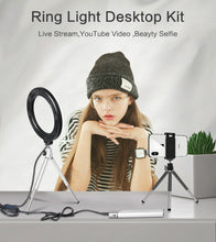 Load image into Gallery viewer, Mini Selfie LED Ring Light