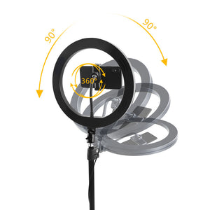 "Professional 10"" LED Selfie Ring Light"